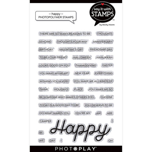 Photo Play - Happy Stamp Set