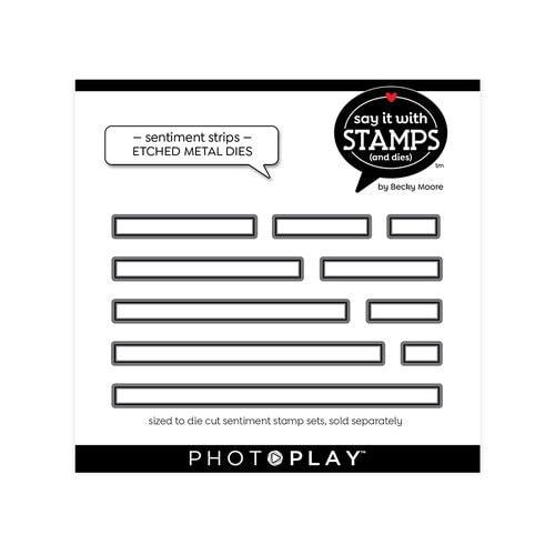 Photo Play - Sentiments Strip Die