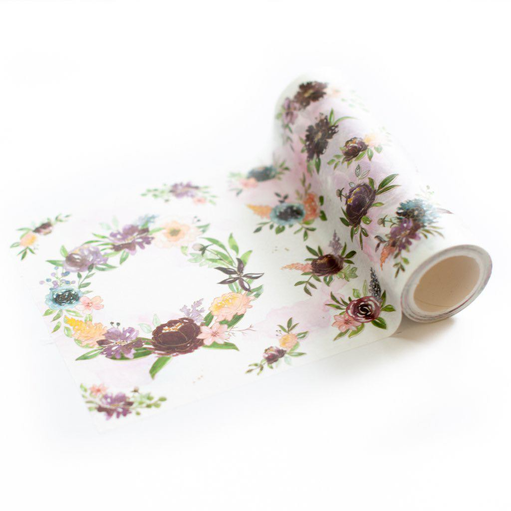 Pinkfresh Studio - Painted Floral Washi Tape