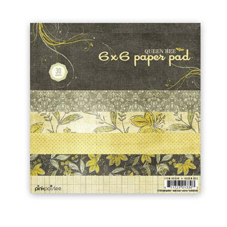 Pink Paislee - Queen Bee 6x6 Paper Pad
