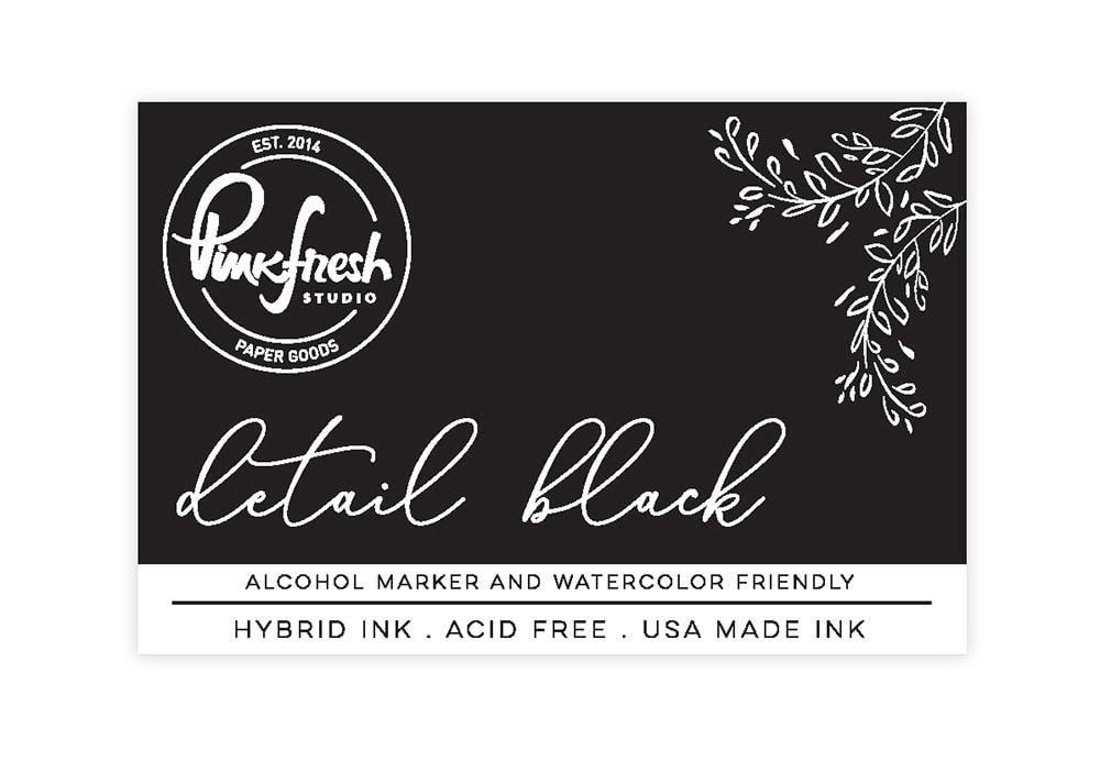 Pinkfresh Studio - Hybrid Ink Pad: Detail Black