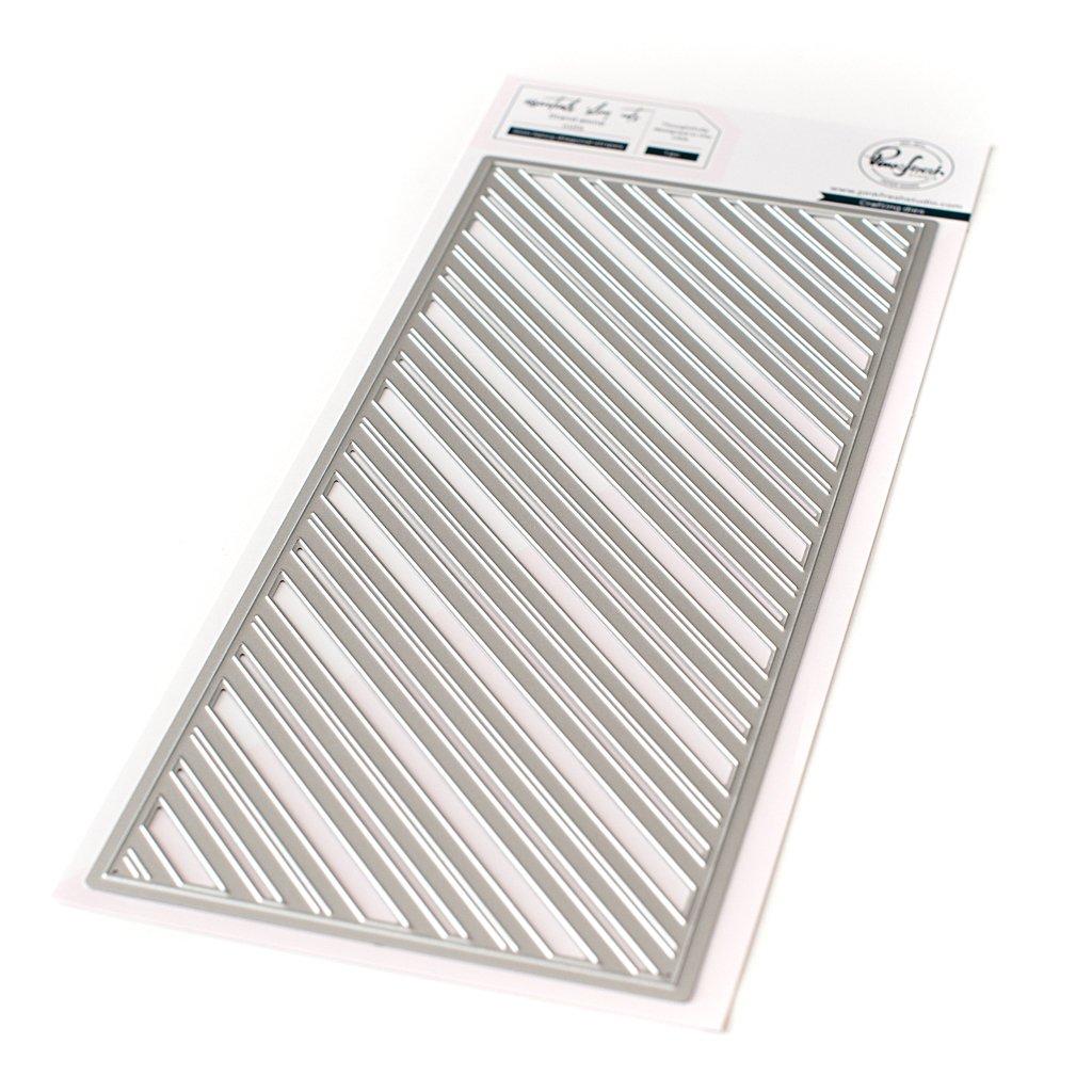 Pinkfresh Studio - Slim Fancy Diagonal Stripes Die