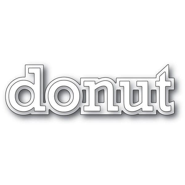 Poppy Stamps - Donut Outline Die