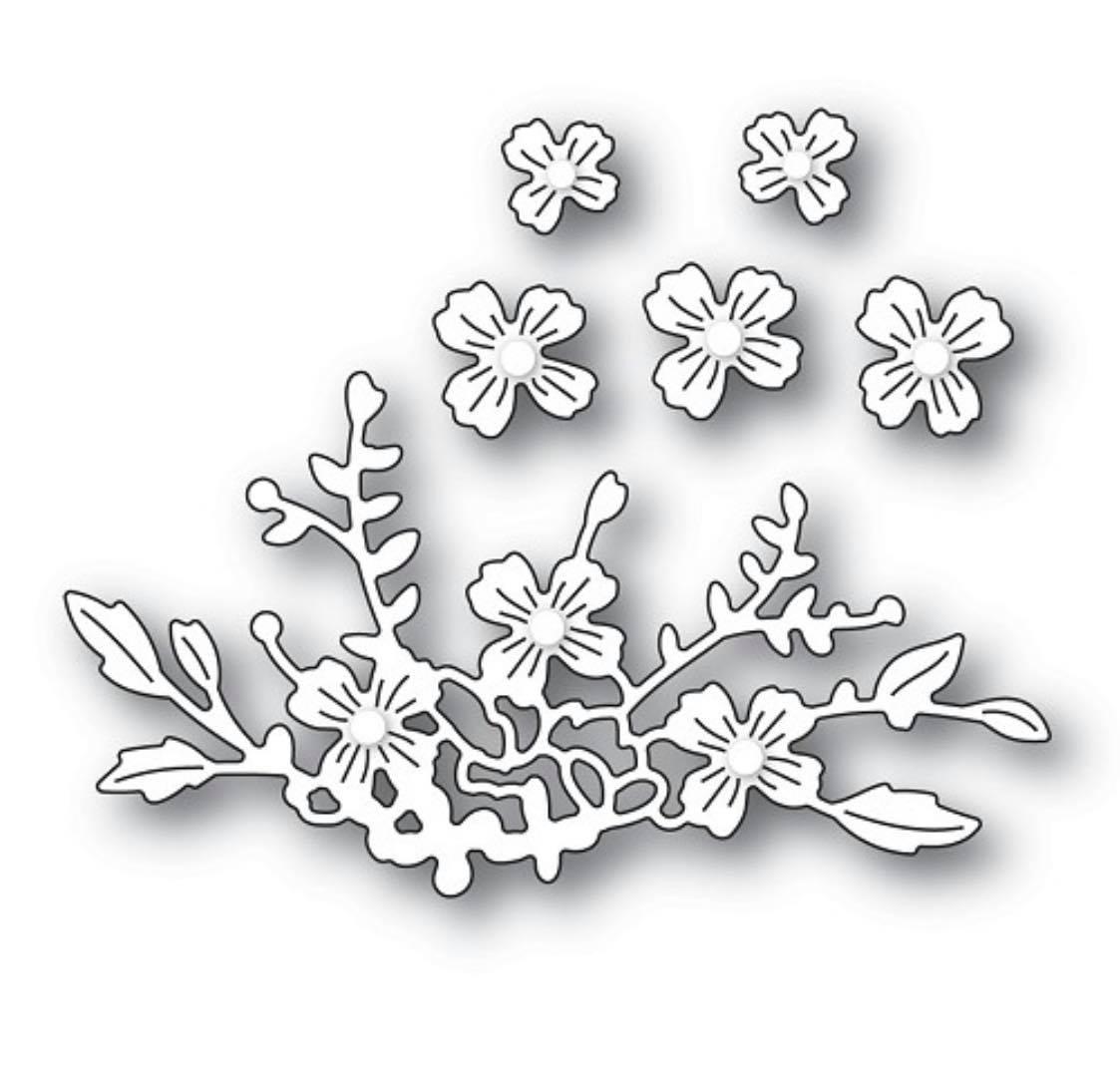 Poppy Stamps - Floral Cluster Die