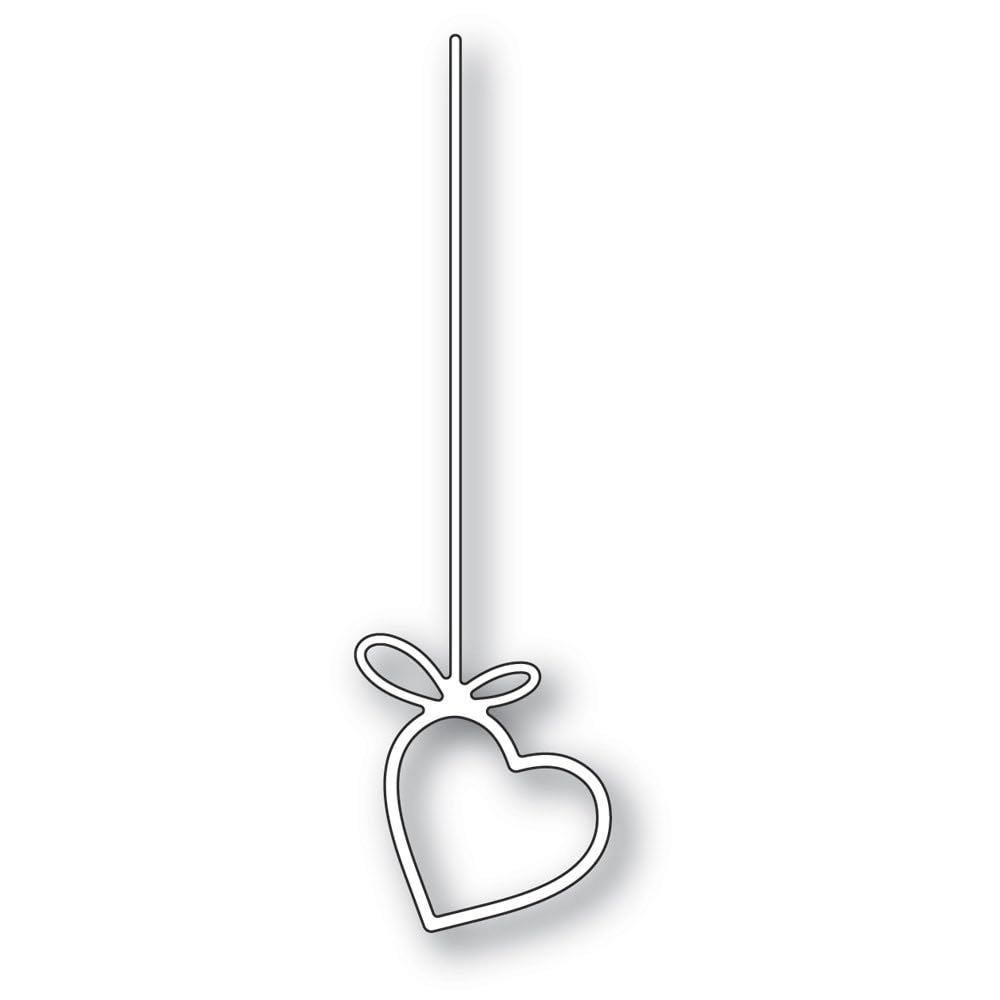Poppy Stamps - Hanging Heart Die