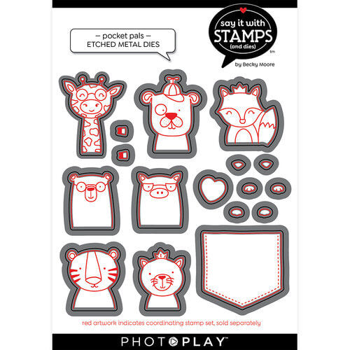 Poppy Stamps - Pocket Pals Die Set
