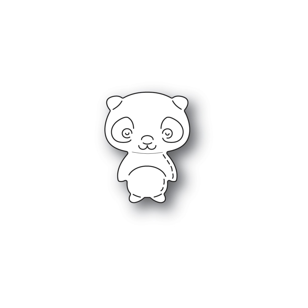 Poppy Stamps - Whittle Panda Die