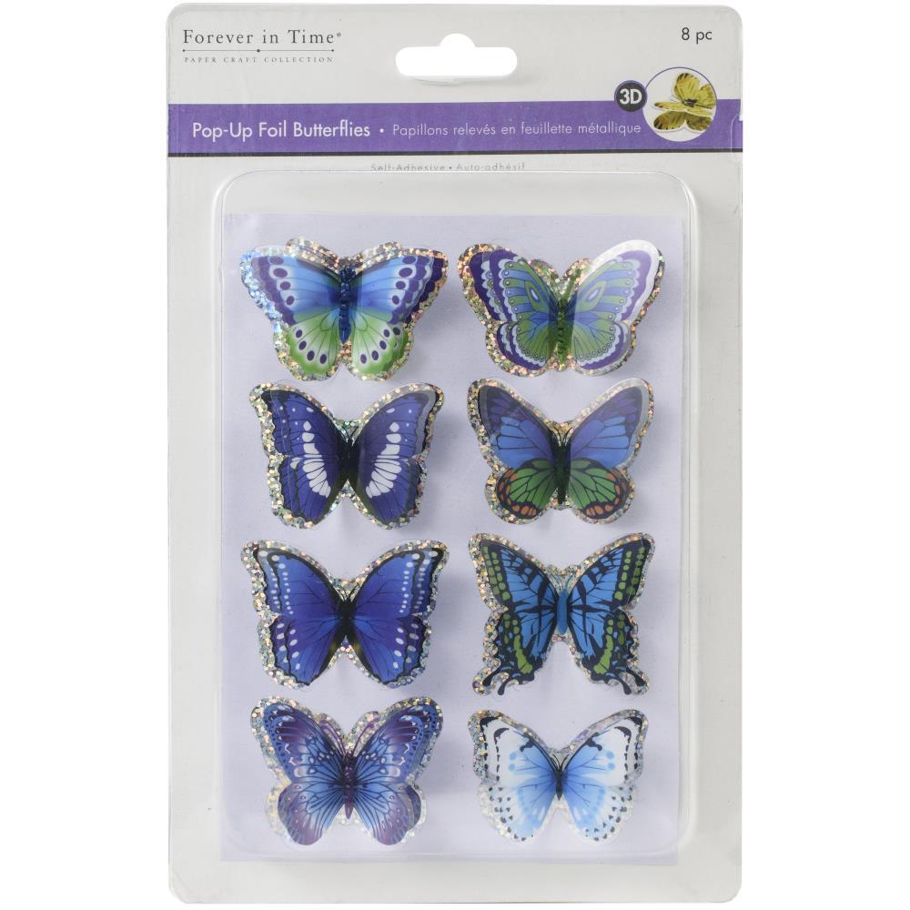 Pop-Up Foil Butterflies!
