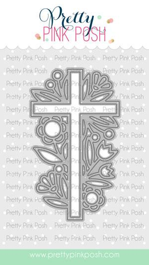 Pretty Pink Posh - Decorative Cross Die