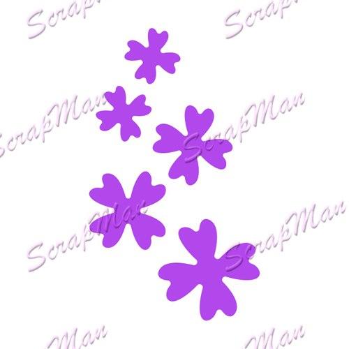 Scrap Man - Set Small Flowers Die