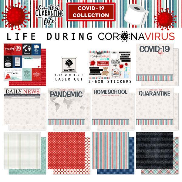Scrapbook Customs Covid-19 Scrapbooking Kit