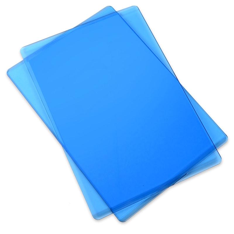 Sizzix - Standard Cutting Pad: 1 Pair - Blueberry