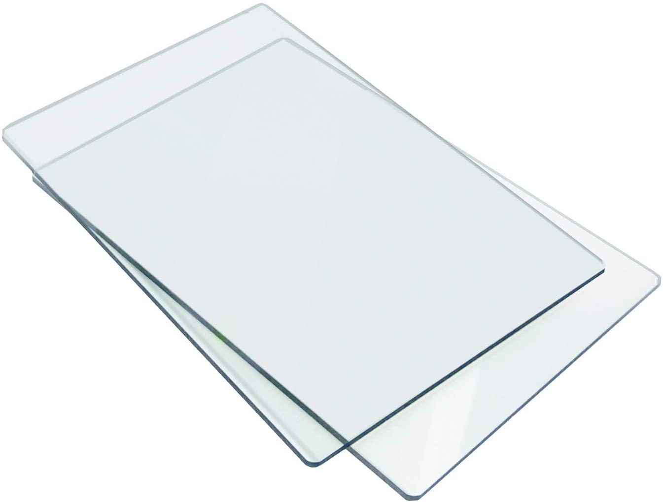 Sizzix - Standard Cutting Pad: 1 Pair - Clear
