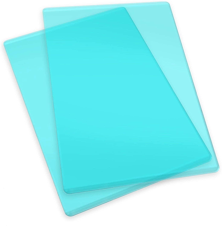 Sizzix - Standard Cutting Pad: 1 Pair - Teal
