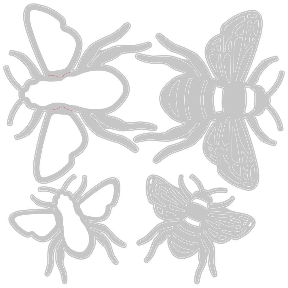 Sizzix - Thinlits Bee Die Set