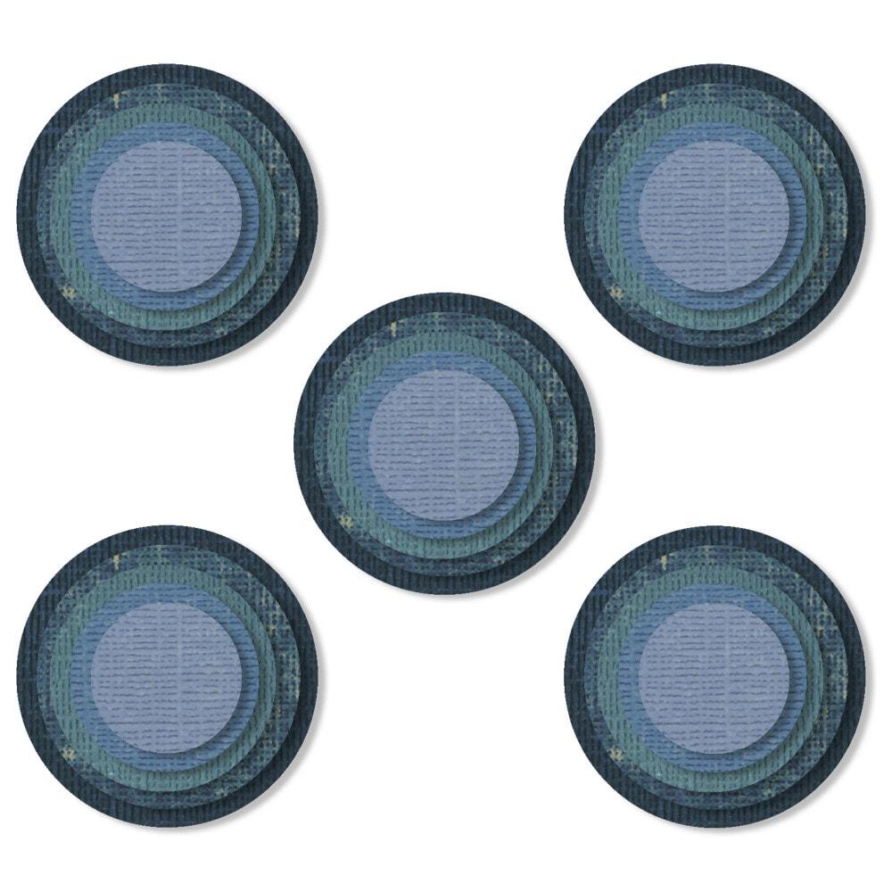 Sizzix - Thinlits Die Set 25PK - Stacked Circles