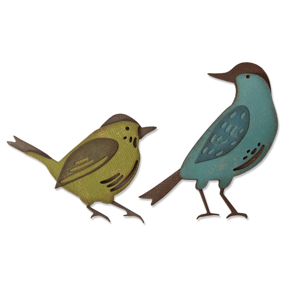 Sizzix - Thinlits Die Set 6PK - Feathered Friends