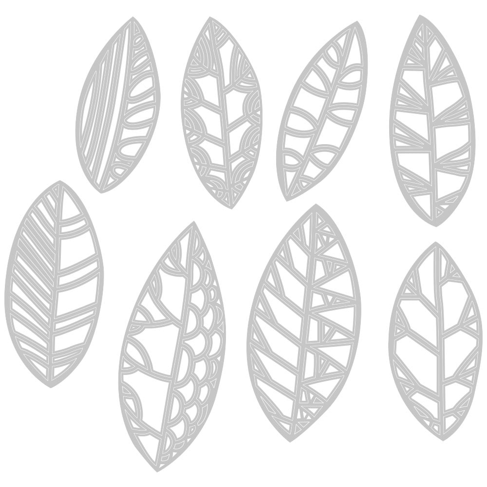 Sizzix - Cut Out Leaves Thinlits Die Set
