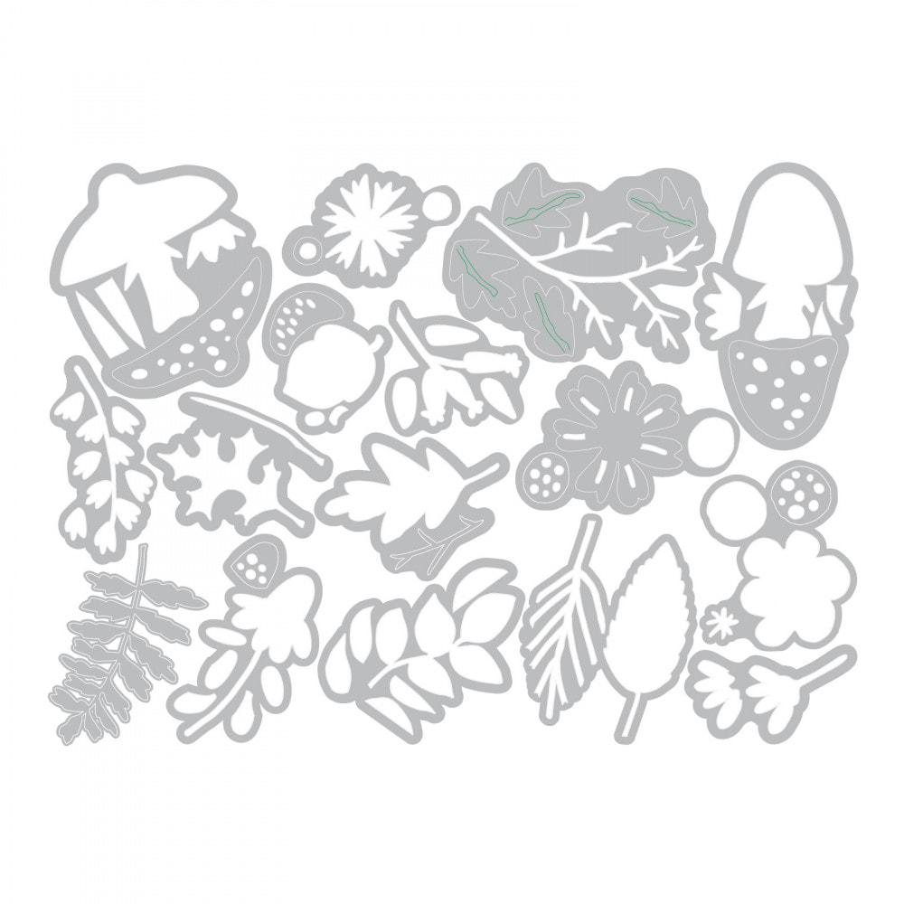 Sizzix Thinlits - Funky Foliage Die Set