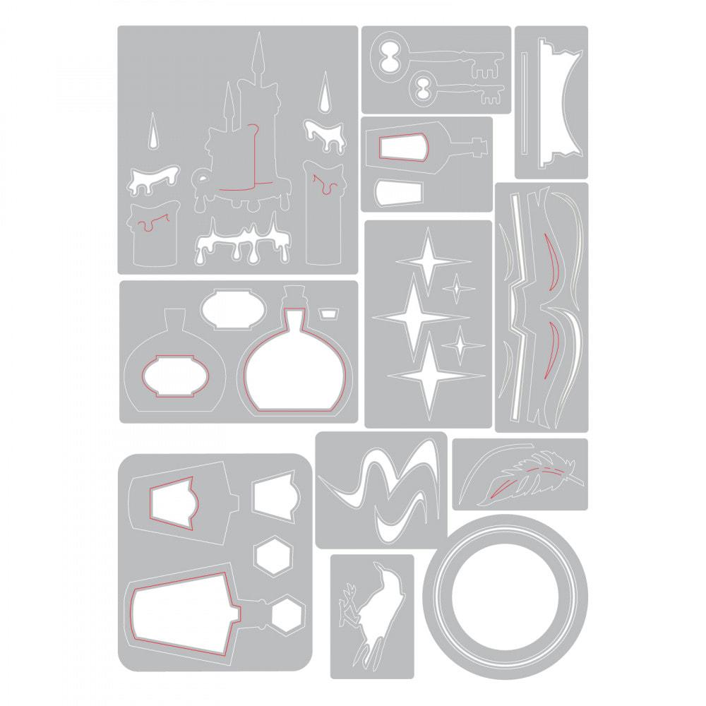 Sizzix Thinlits - Regions Beyond Die Set