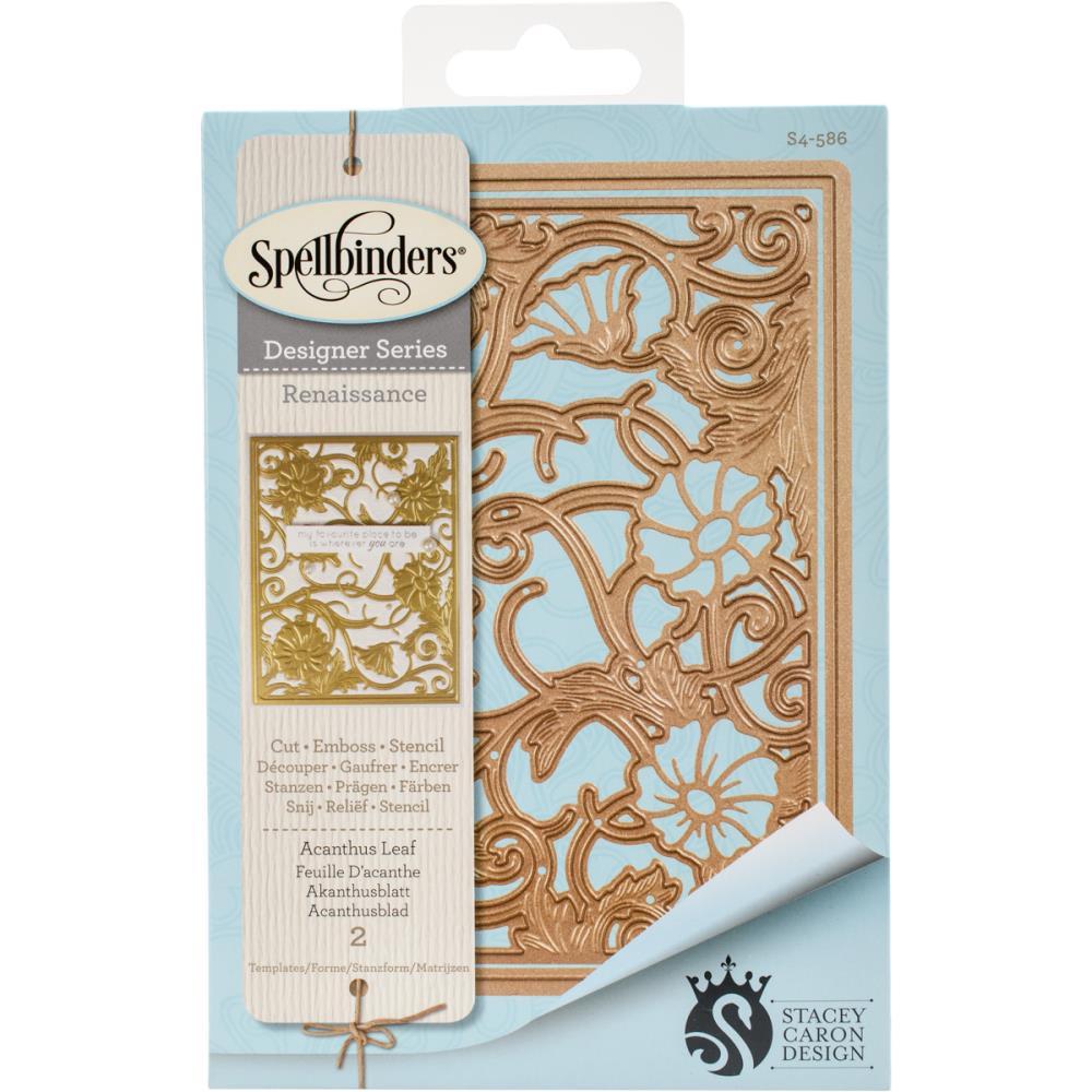 Spellbinders - Acanthus Leaf Card Front Die