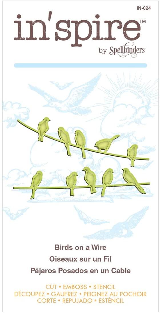 Spellbinders - Birds on a Wire Etched Die