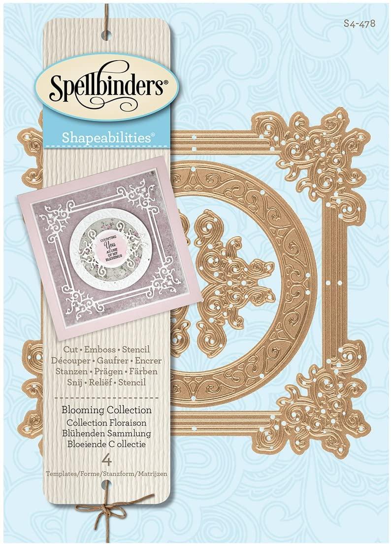 Spellbinders - Blooming Collection Die