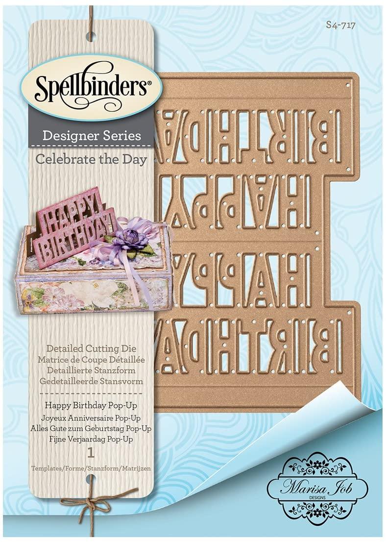 Spellbinders - Happy Birthday Pop-up Dies