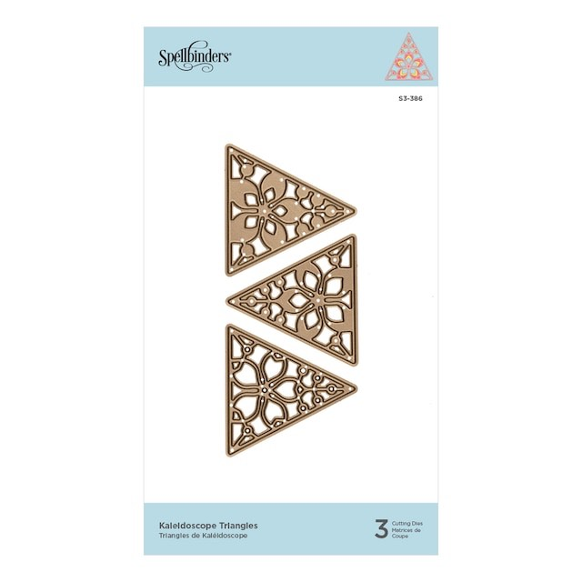 Spellbinders - Kaleidoscope Triangles Etched Dies