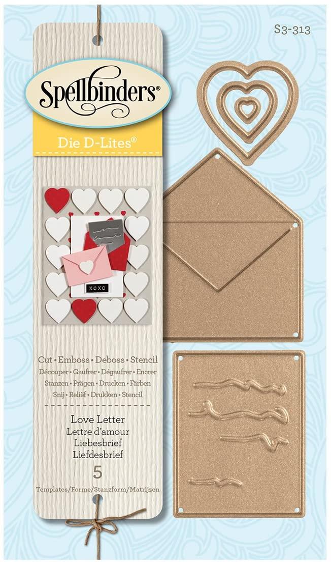 Spellbinders - Love Letter Etched Dies