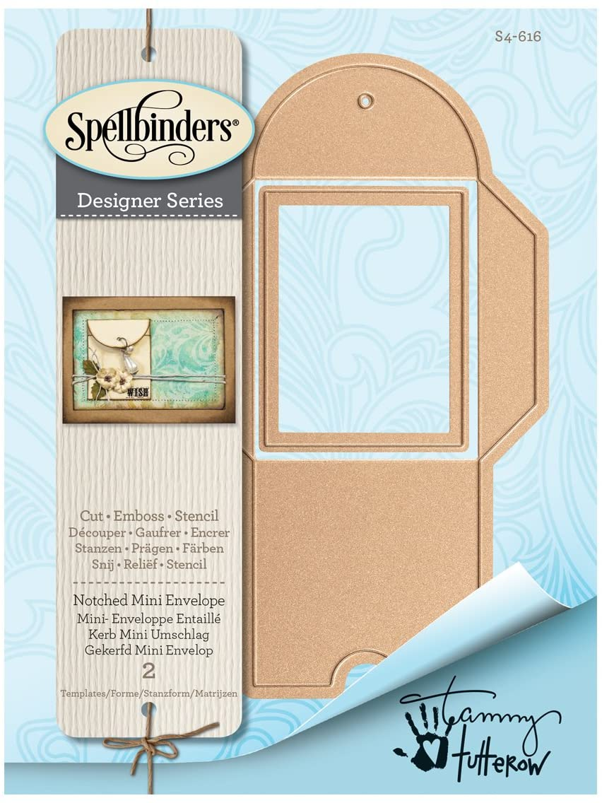 Spellbinders - Notched Mini Envelope Die