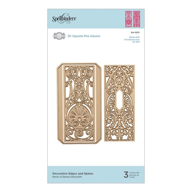 Spellbinders - Shapeabilities Decorative Edges and Spines Etched Dies