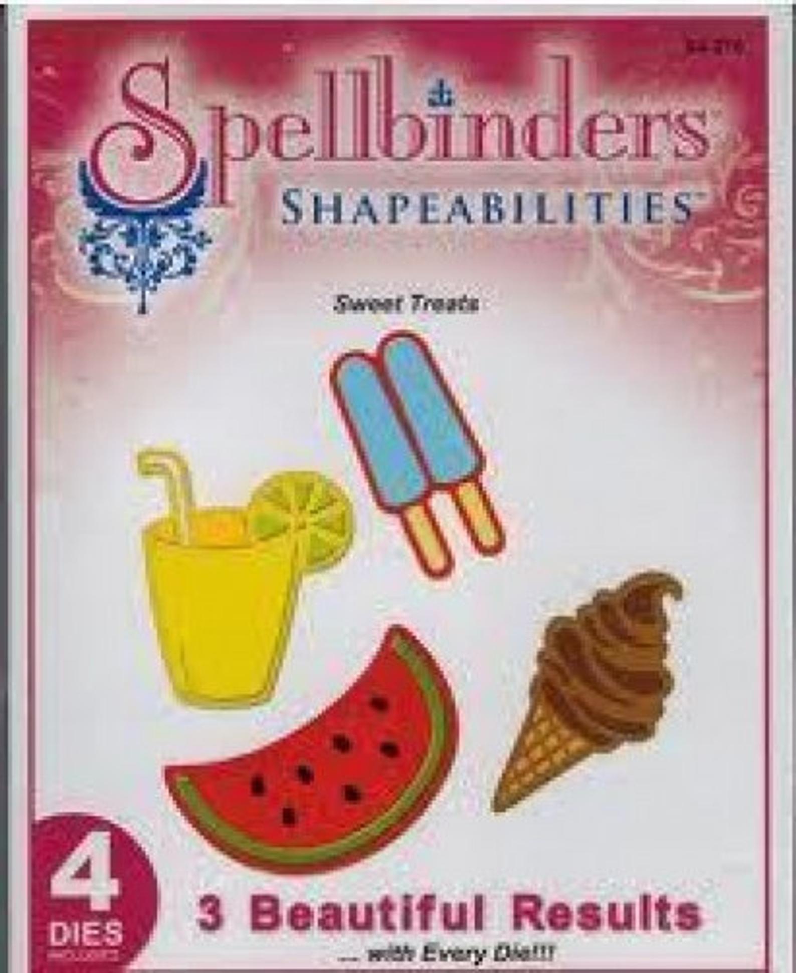 Spellbinders - Sweet Treats Dies