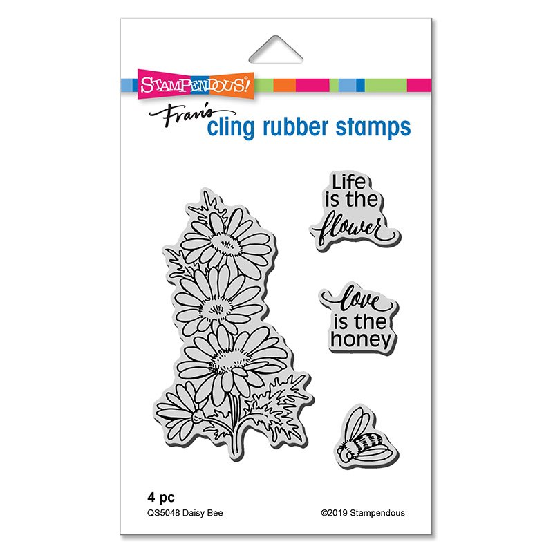 Stampendous - Daisy Bee Cling Set