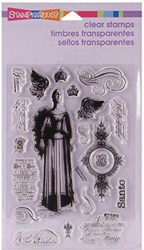 Stampendous - Santos Angel Stamp Set