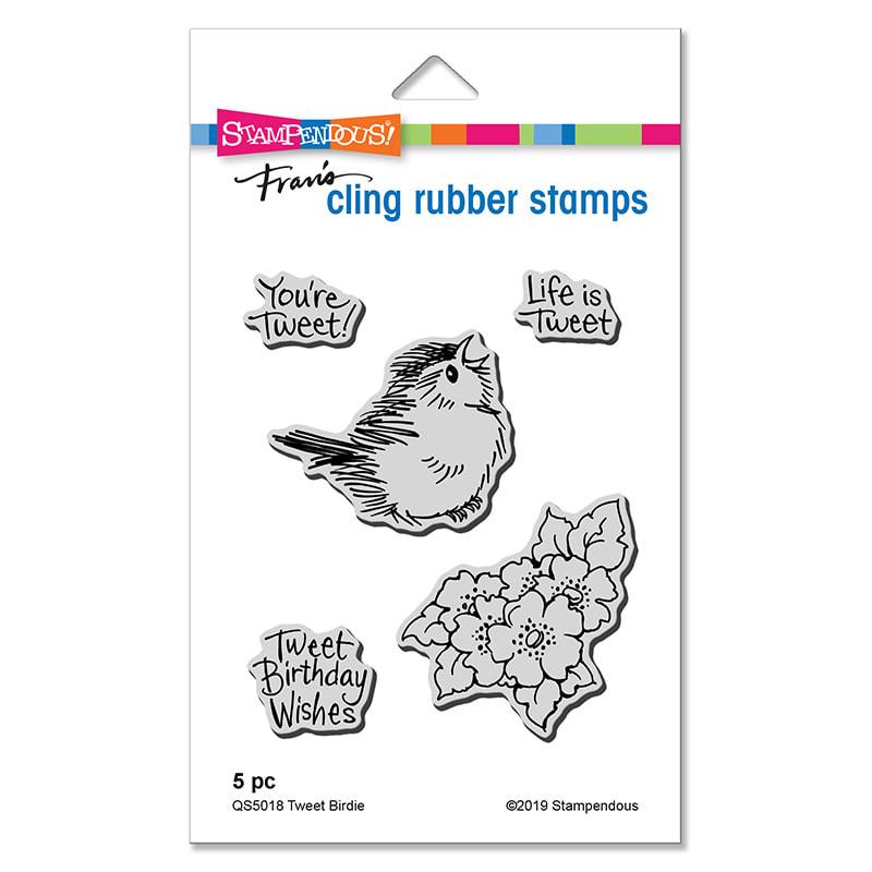 Stampendous - Tweet Birdie Stamp Set