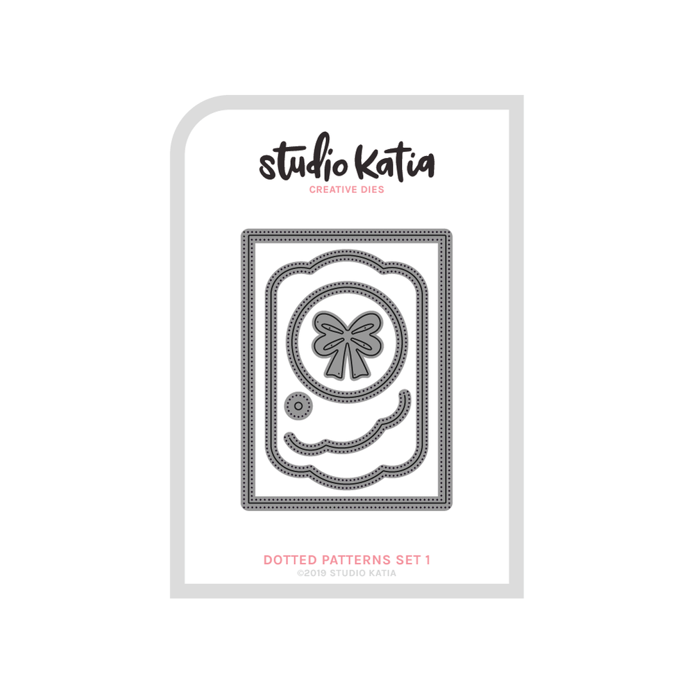 Studio Katia - Dotted Patterns Set 1 Die
