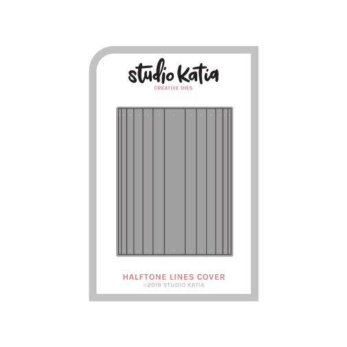 Studio Katia - Halftone Lines Cover Die