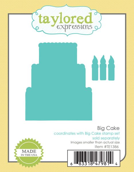 Taylored Expressions - Big Cake Die