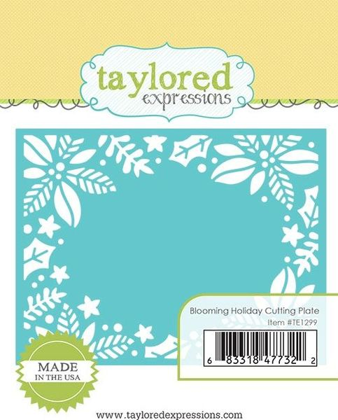 Taylored Expressions - Blooming Holiday Cutting Plate