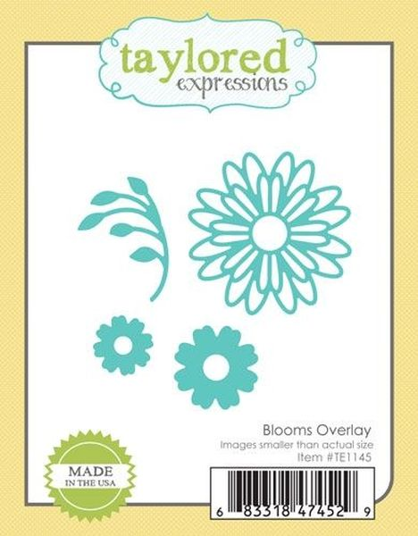Taylored Expressions - Blooms Overlay Die