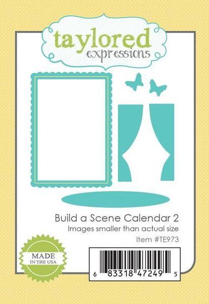 Taylored Expressions - Build a Scene: Calendar 2 Die
