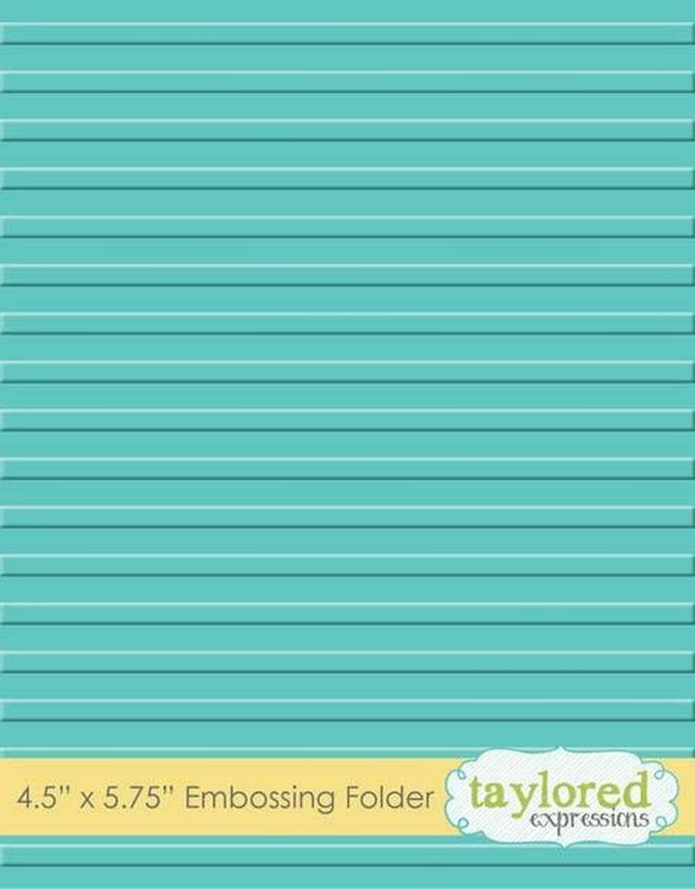 Taylored Expressions - Corrugated Embossing Folder