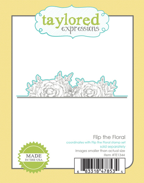 Taylored Expressions - Flip the Floral Die
