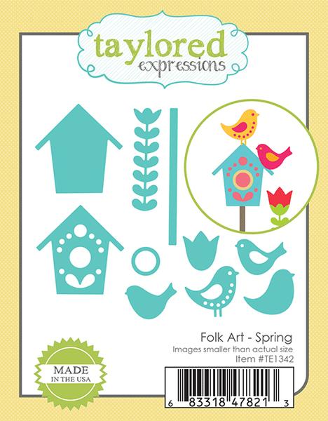 Taylored Expressions - Folk Art Spring Dies