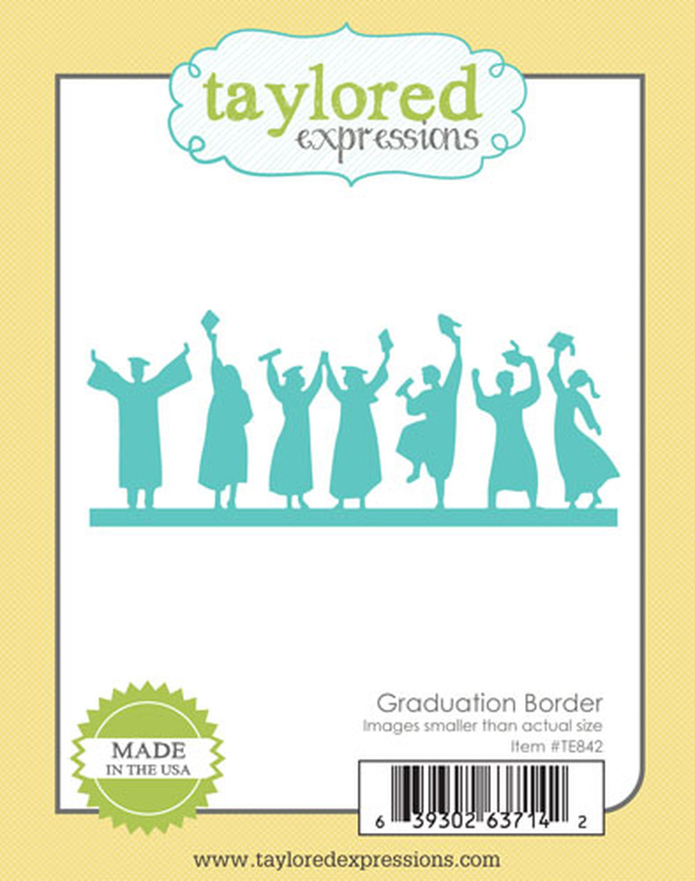 Taylored Expressions - Graduation Border Die