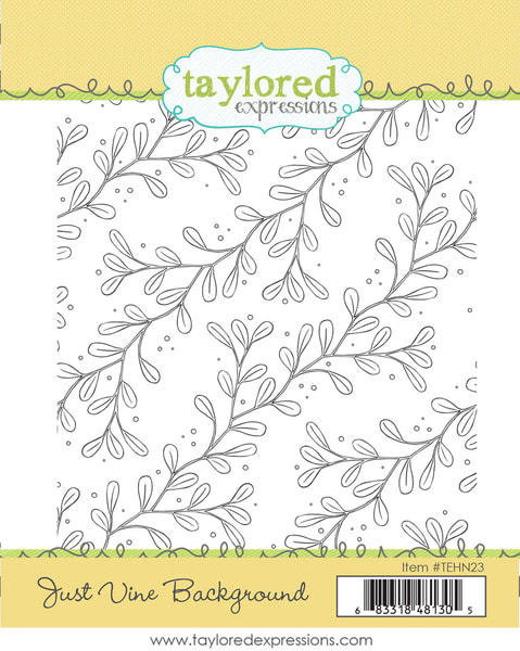Taylored Expressions - Just Vine Background Stamp