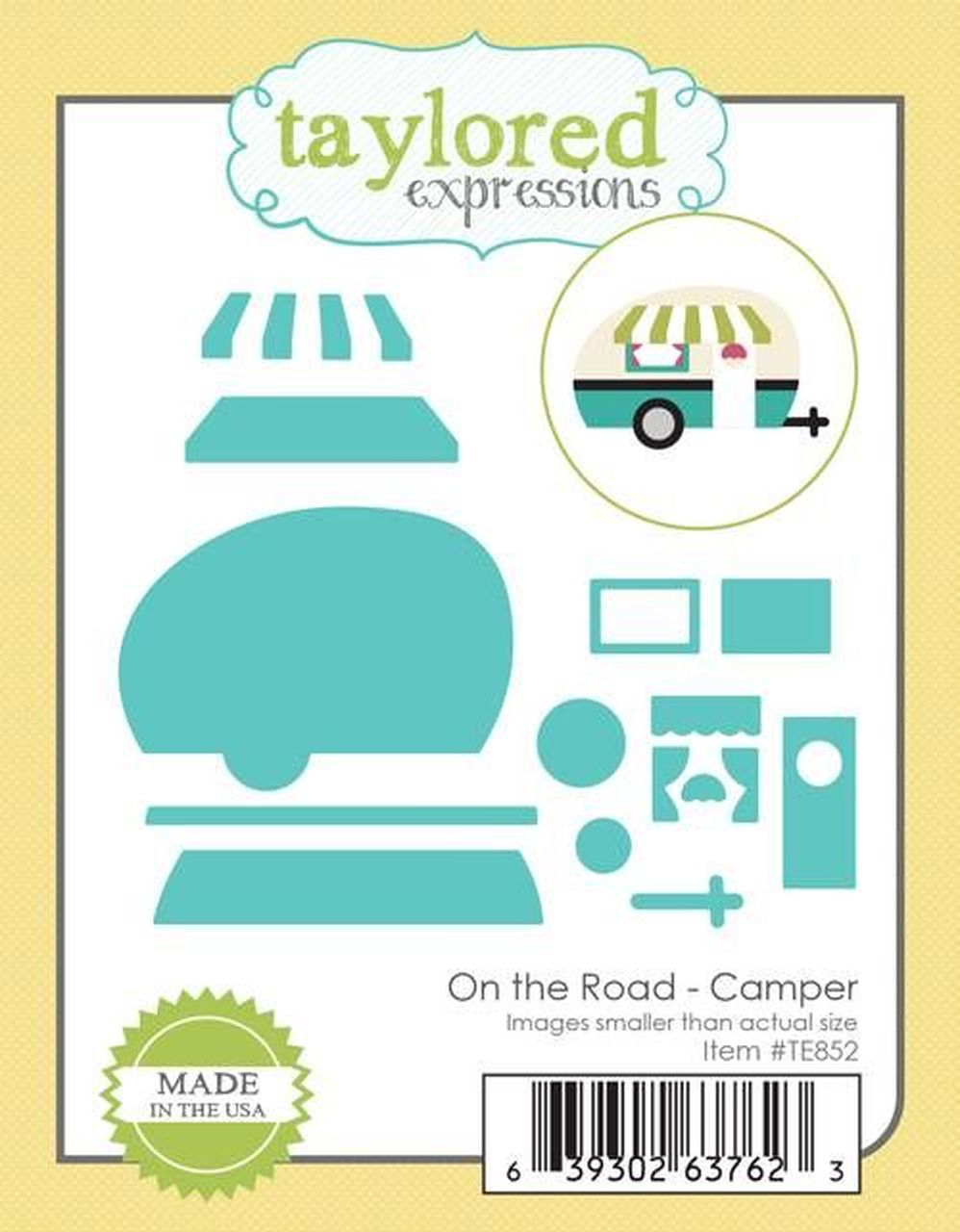 Taylored Expressions - On the Road Camper Dies