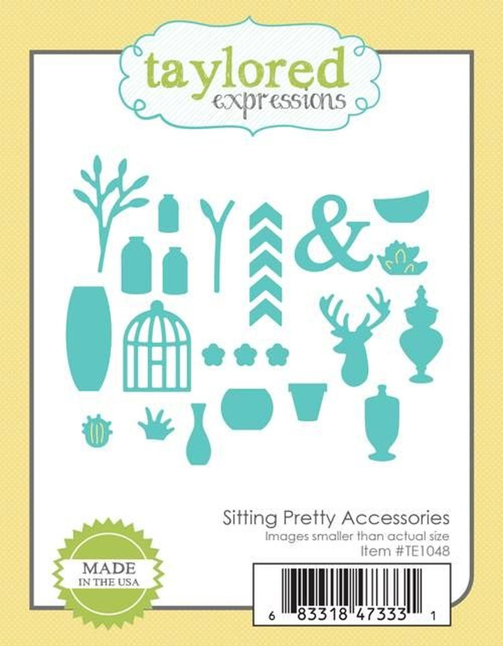 Taylored Expressions - Sitting Pretty Accessories Dies