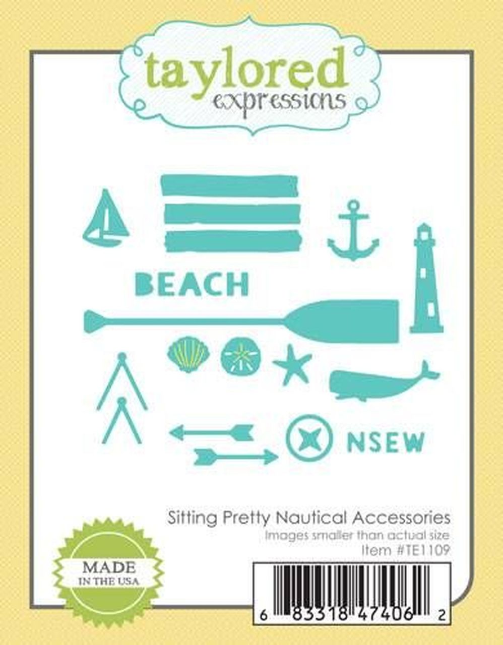 Taylored Expressions - Sitting Pretty Nautical Accessories Die